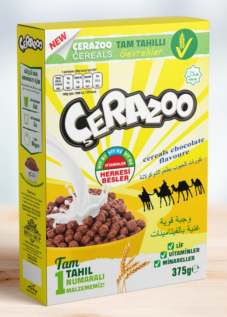 Cereals Chocolate flavoure