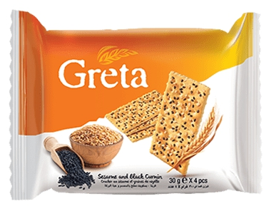 Greta Sesame & Cumin 24MP 4pcs 30g